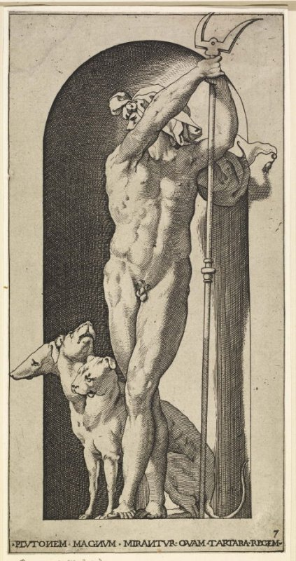 Pluto, after Rosso Fiorentino, from the series Mythological Gods and Goddesses