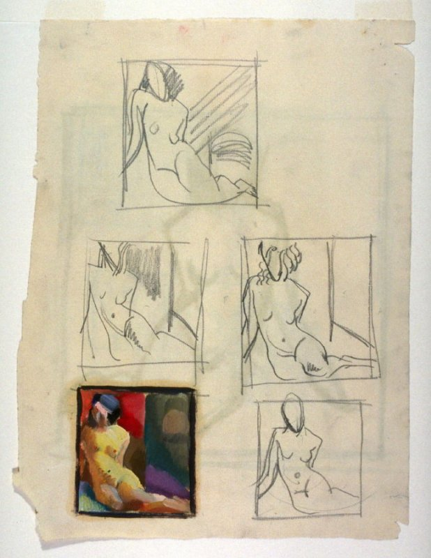 Untitled (figure studies)