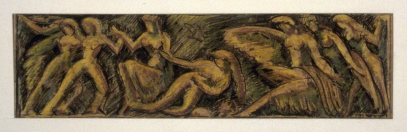 Study for a relief sculpture