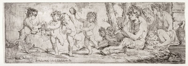 Dancing Children with Satyrs and Putti
