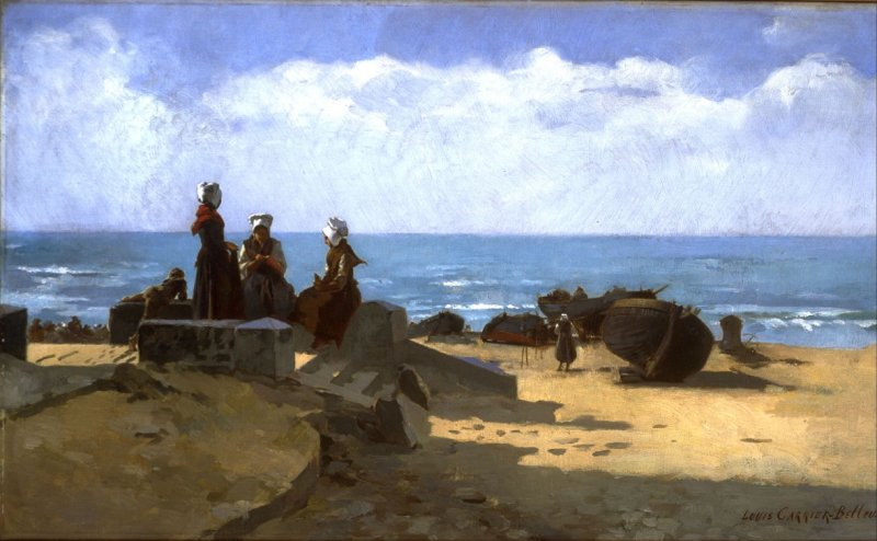 Scene on the Brittany Coast