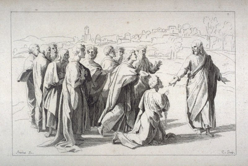 Christ Giving the Keys to Saint Peter, from the Cabinet du Roi