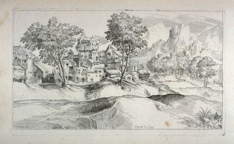 Landscape with a Chateau, from the Cabinet du Roi