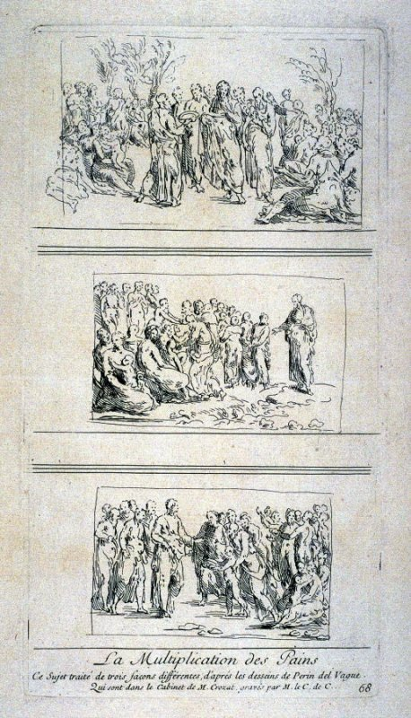 The Multiplication of Loaves, from the Cabinet du Roi