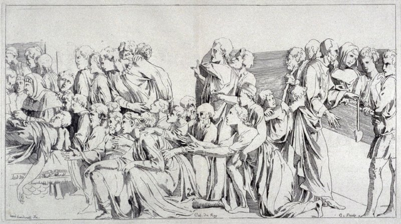 Death of a Man, from the Cabinet du Roi