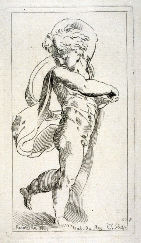 Nude Boy, from the Cabinet du Roi