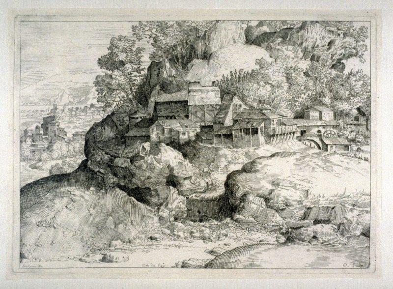 Landscape with a Village, from the Cabinet du Roi