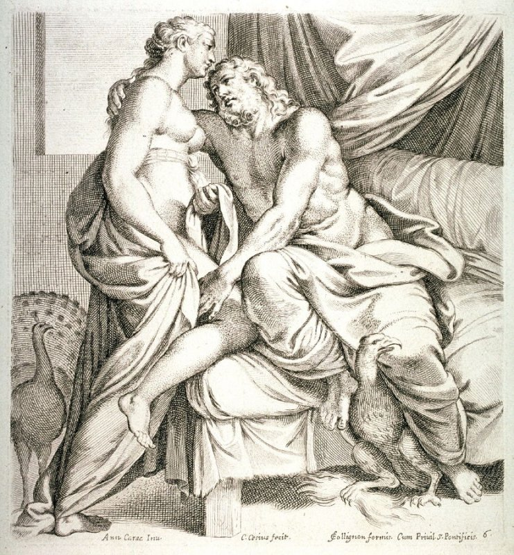 Jupiter and Juno, from the series The Farnese Gallery