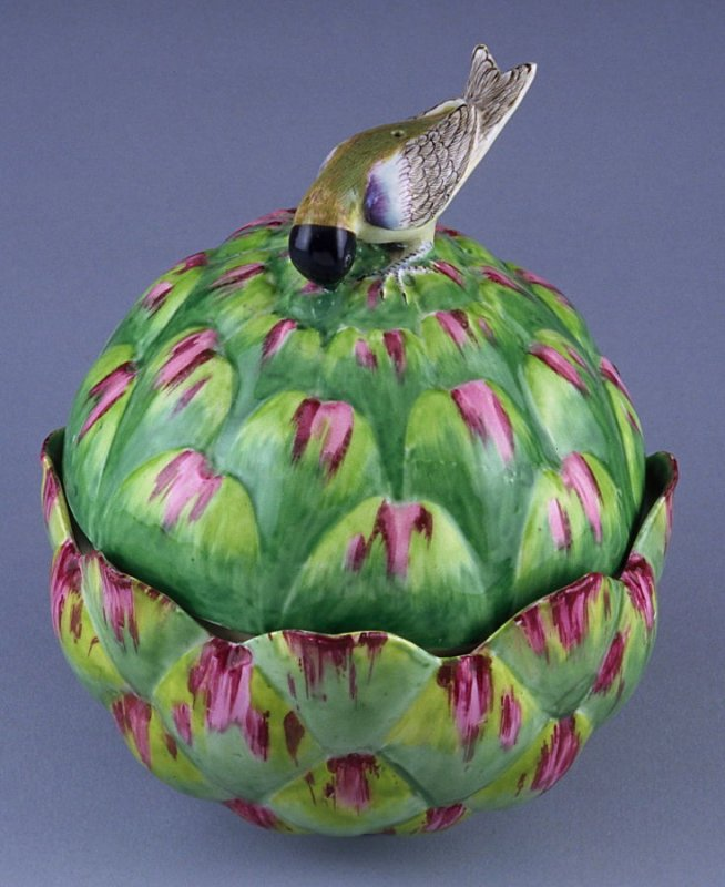 Artichoke tureen with cover