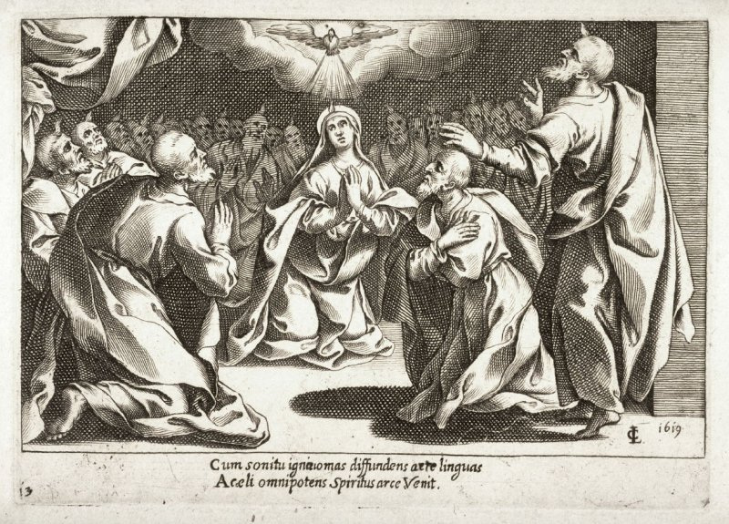 Pentecost, from the series Mysteries of the Rosary