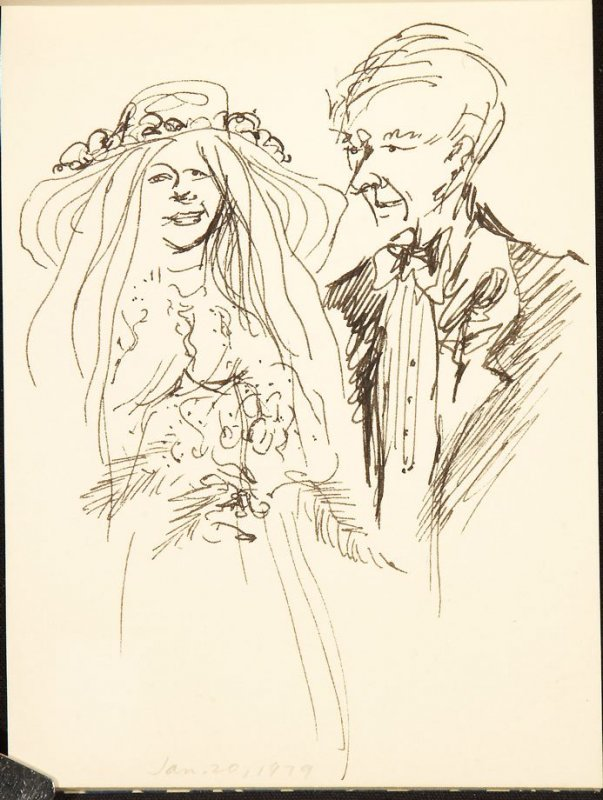 Illustration 3 in the book Sketchbook (Jane's Wedding)