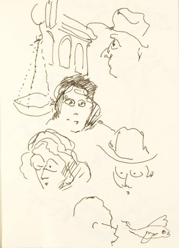 Illustration 9 in the book Chinatown Sketching Trip with my Workshop, San Francisco (sketchbook)