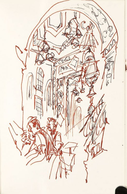 Illustration 31 in the book Sketchbook (Nantes and Dieppe)