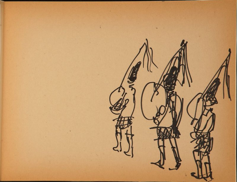 Illustration 13 in the book What I Saw from My Window on Kearny Street (sketchbook)