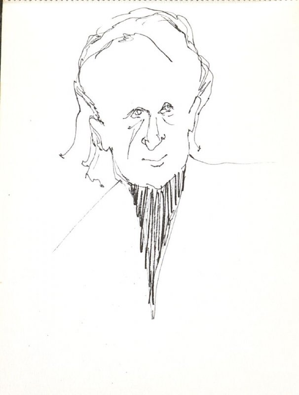 Untitled (Man), Illustration 29 in the book Sketchbook (Stern Grove)