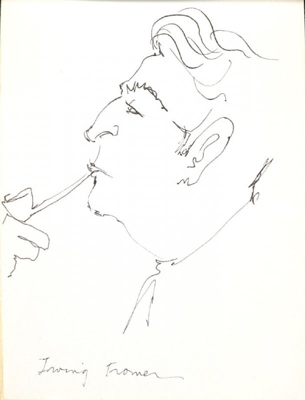 Irving Fromer, Illustration 44 in the book Sketchbook (Stern Grove)