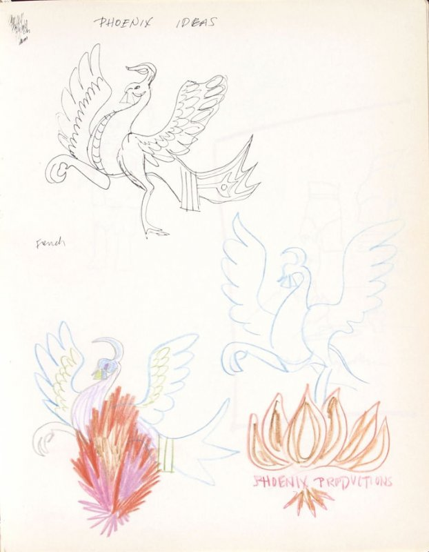 Phoenix Ideas, Illustration 12 in the book Sketchbook (Washington and New York)