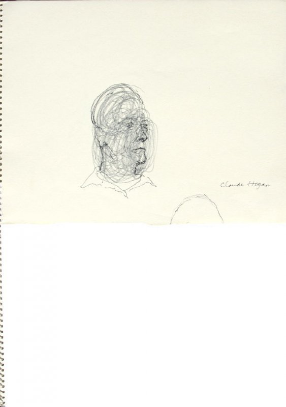 Claude Hogan, Illustration 4 in the book Sketchbook (San Francisco)