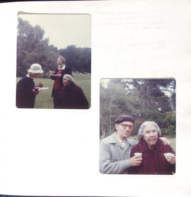 Untitled (Golden Gate Park picnic), Illustration 39 in the book Sketchbook (Paris and Amsterdam)