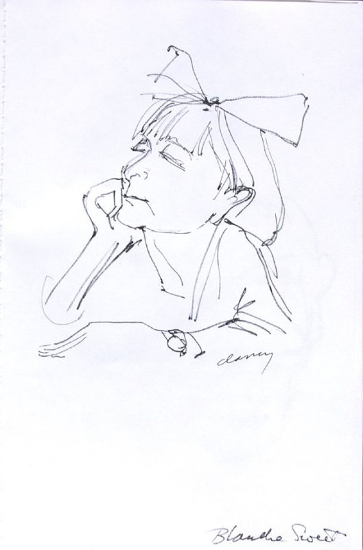 Blanche Sweet, Illustration 26 in the book Sketchbook (Western Film Conference)