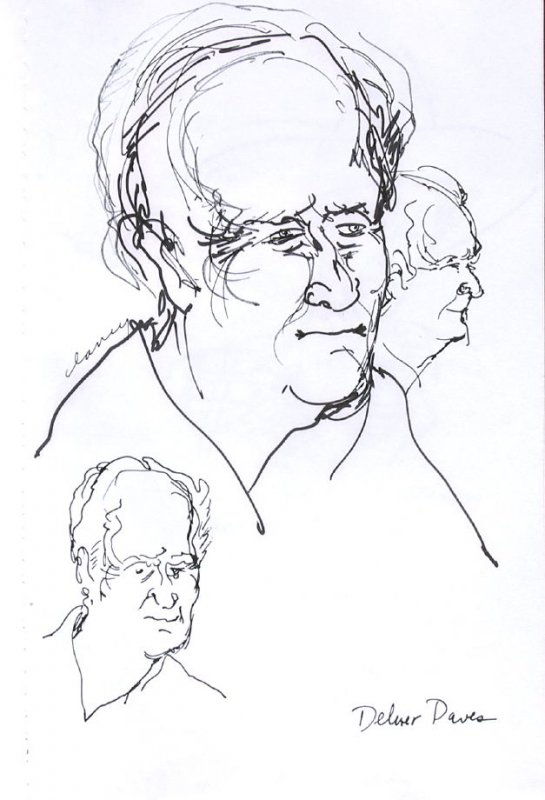 Delmer Daves, Illustration 39 in the book Sketchbook (Western Film Conference)