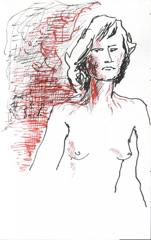 Untitled (Nude), Illustration 3 in the book Journal (Paris and Amsterdam)