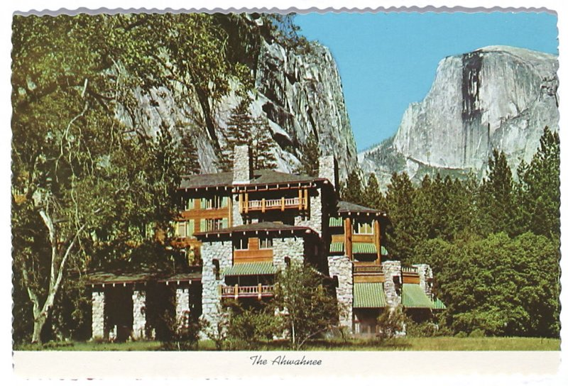 The Ahwahnee (postcard), Illustration 7 in the book Sketchbook (Cheyenne, Wyoming)