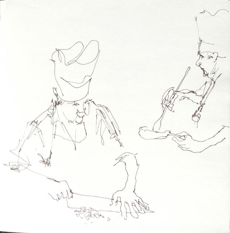Untitled (Josephine Araldo), Illustration 11 in the book Sketchbook (St. Helena)