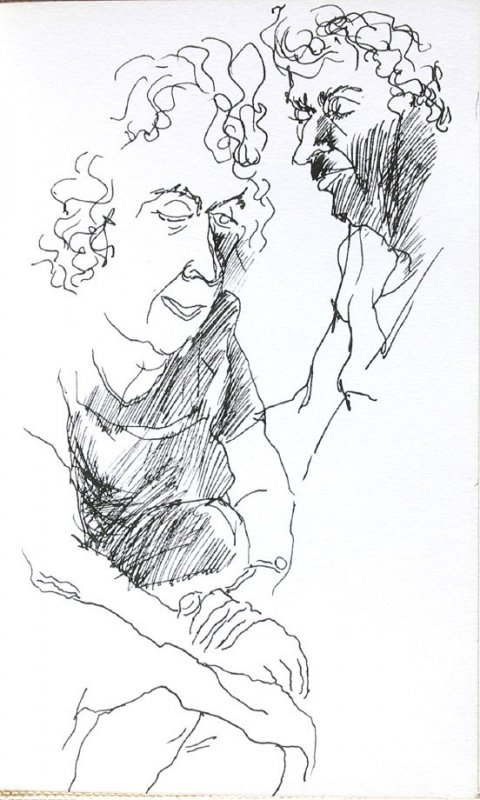 Mama, Illustration 30 in the book Sketchbook (Portraits)