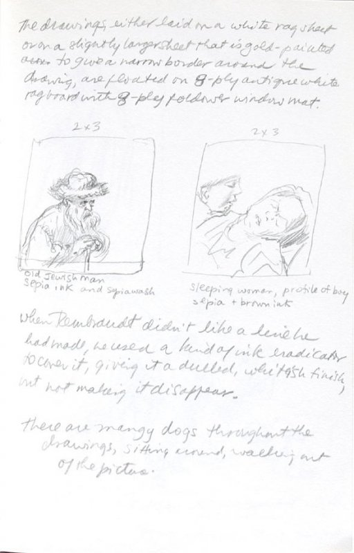 Untitled (After Rembrandt), Illustration 7 in the book Journal (Importance of Drawing, II)