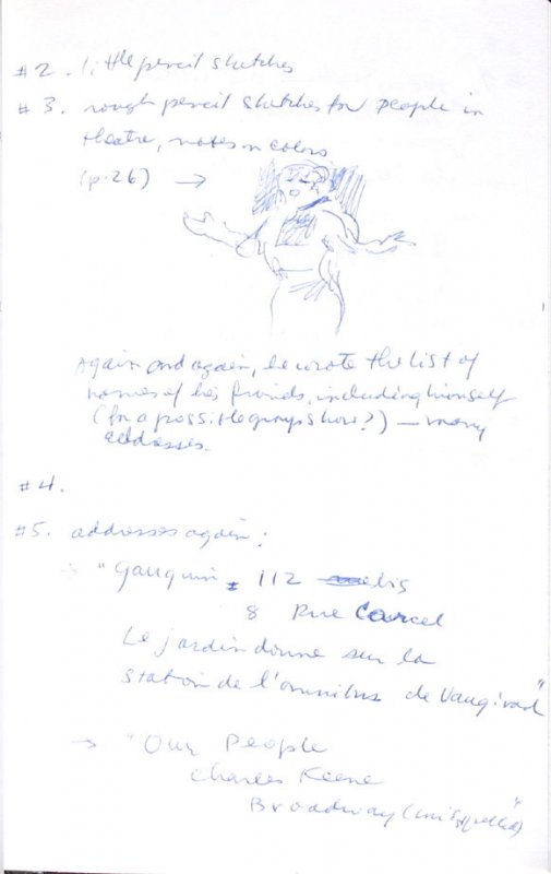 Untitled (After Degas), Illustration 17 in the book Journal (Importance of Drawing, II)