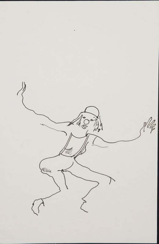 Illustration 10 in the book Sketchbook (Circus auditions, I)