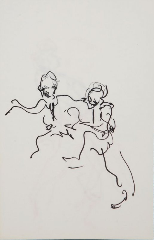 Illustration 23 in the book Sketchbook (Gary Palmer Dance Company)