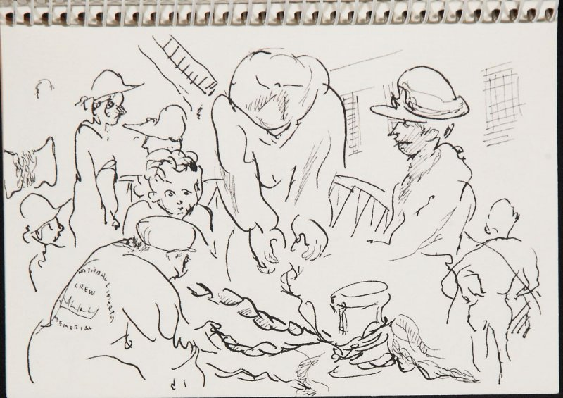Illustration 6 in the book Sketchbook (Jeremiah O'Brien, I)
