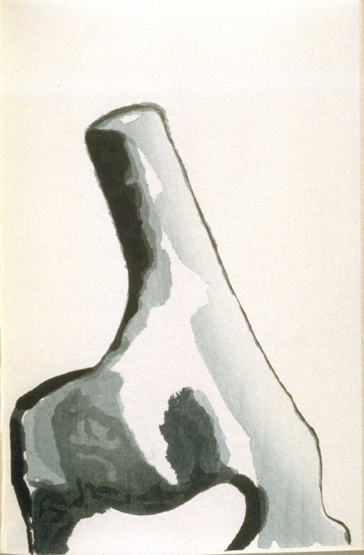 Untitled, fourth plate in the book Cathay, Poems after Li Po, ([Hadley, MA]: Limited Editions Club, [1992])