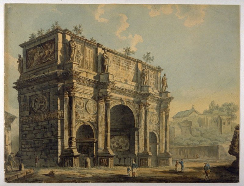 The Arch of Constantine, Rome