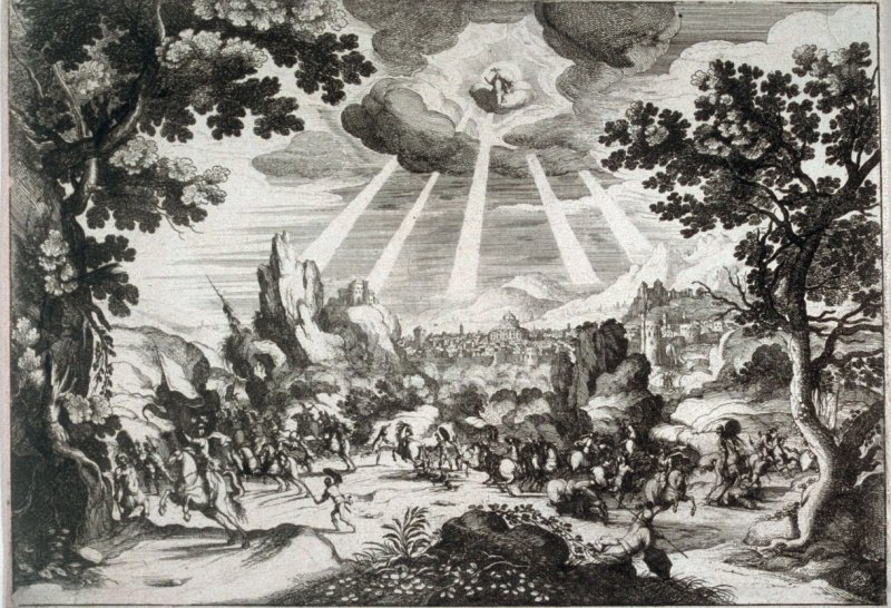 One of Four prints of Biblical significance