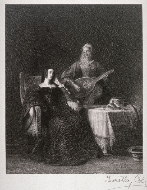 Catherine of Aragon and Maid