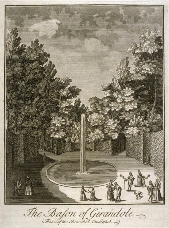 The Bason Of Girandole ( That is of the branched Candlestick).