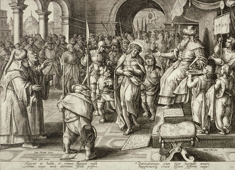Pilate Washing his Hands, no. 21 from The Passion of Christ