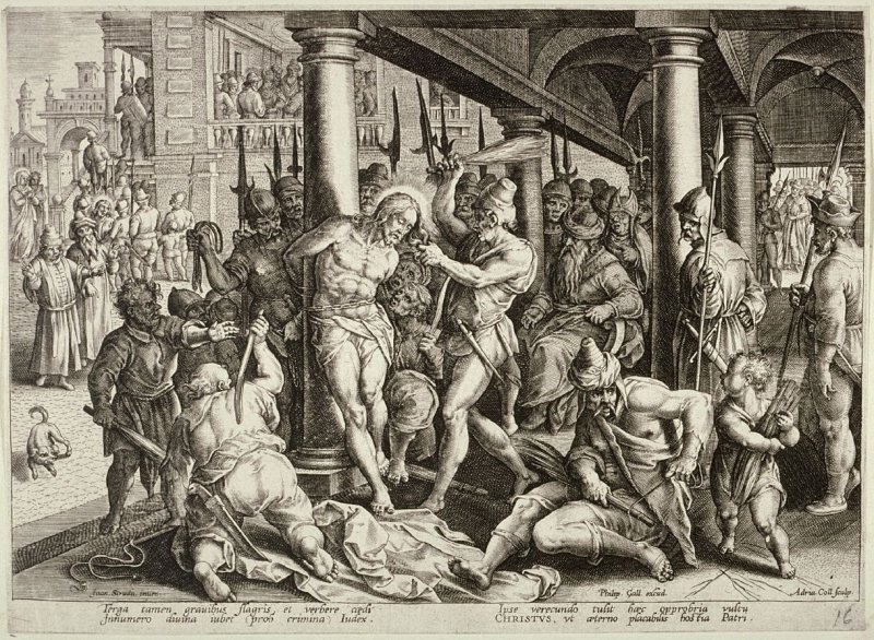 The Flagellation, no. 16 from The Passion of Christ