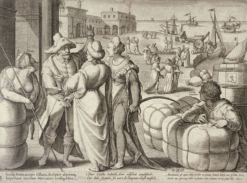 Merchants in a Dispute Because of Fraud, Forgery and an Ignorant Scribe