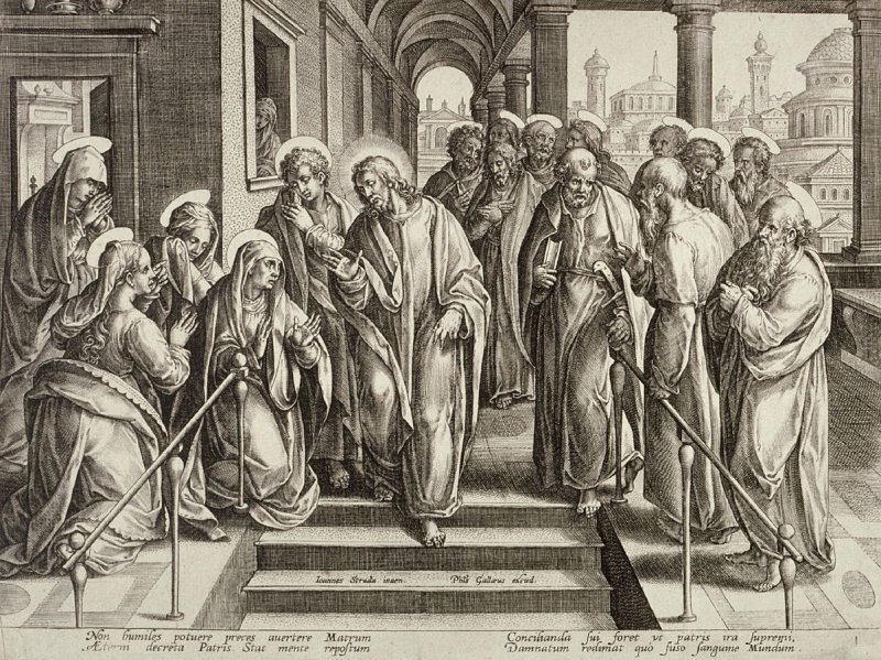 Christ Announcing his Suffering and Speaking of the Last Days, no. 1 from The Passion of Christ