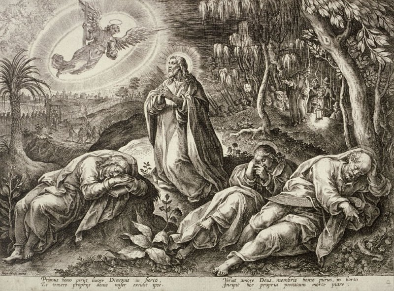 The Agony in the Garden, no. 4 from The Passion of Christ
