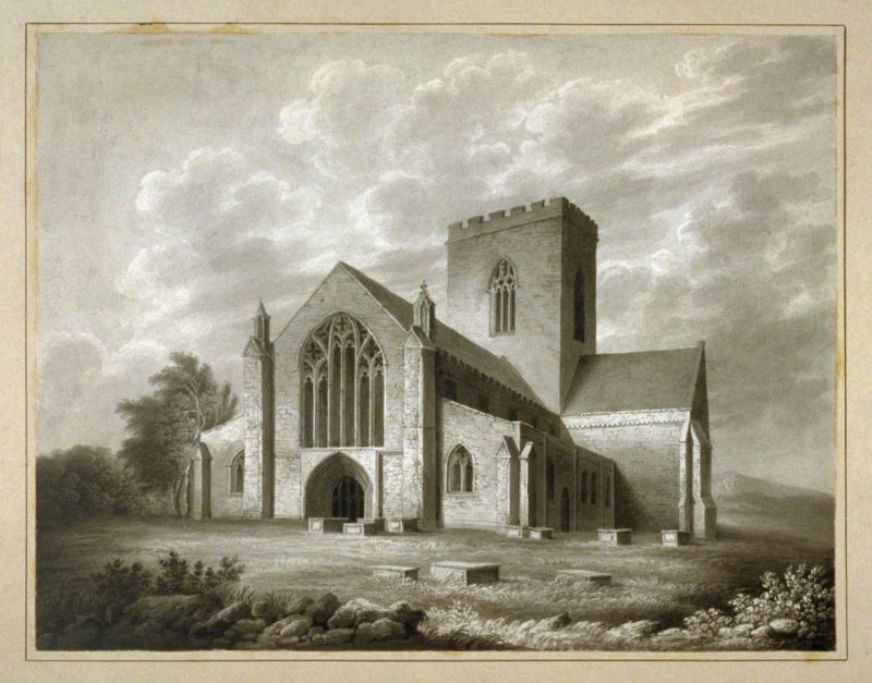 Saint Asaph's Cathedral. West View