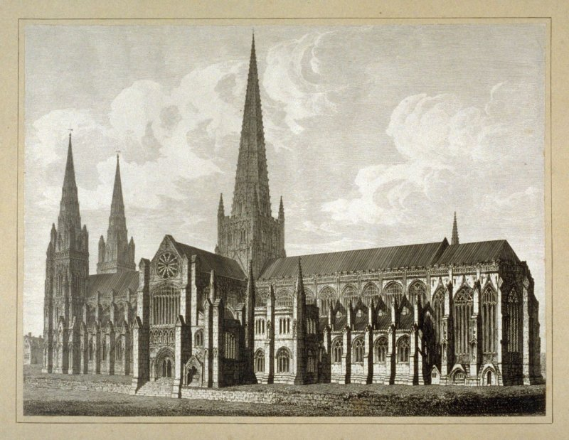 Litchfield Cathedral SE View