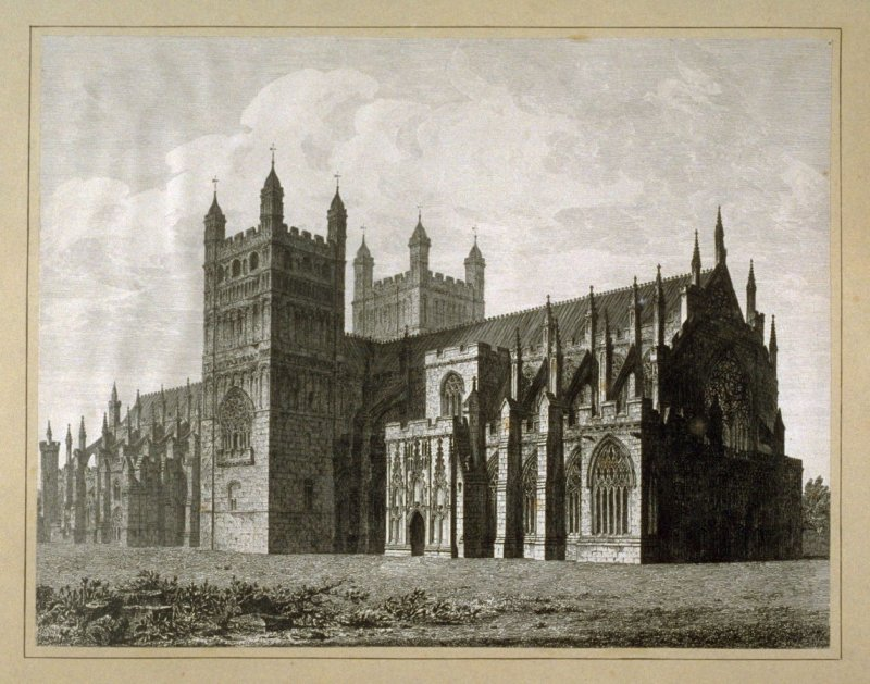 Exeter Cathedral NW View