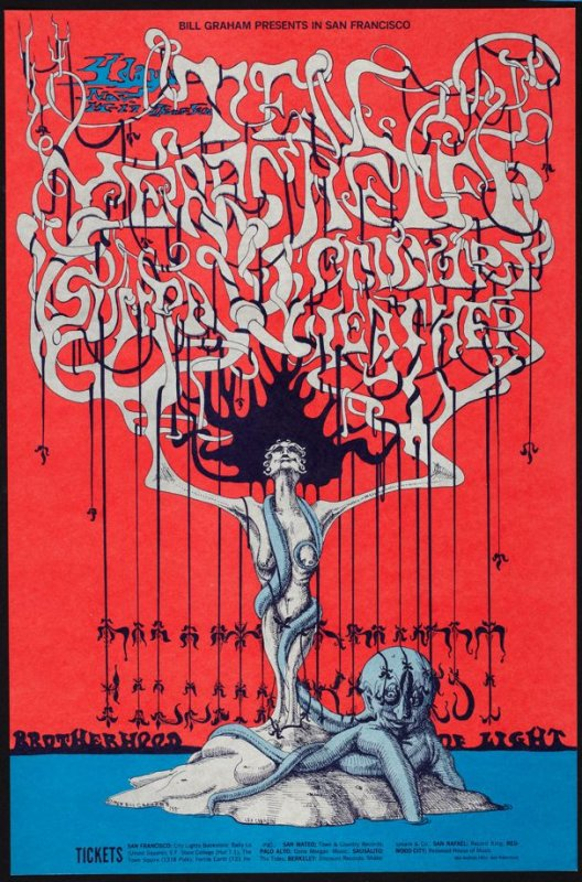 Ten Years After, Country Weather, Sun Ra, November 14 - 17, Fillmore West