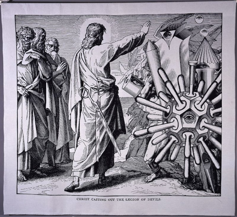 CHRIST CASTING OUT THE LEGION OF DEVILS