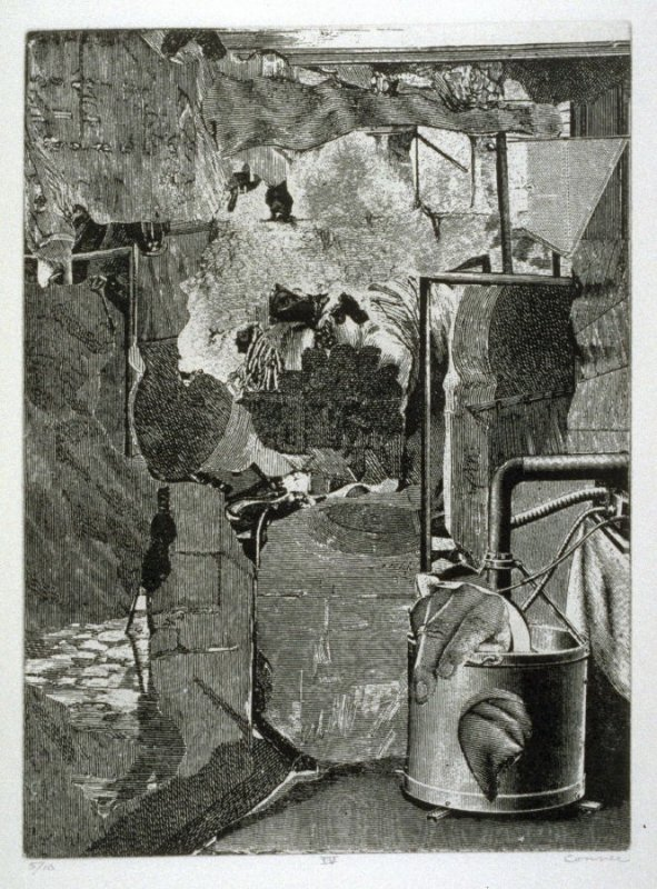 Plate IV, from the book, Dennis Hopper/One Man Show/Volume One